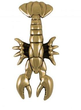 """Lobster Premium Door Knocker - 8.5""""H x 4.5""""W x 1.25""""D"""