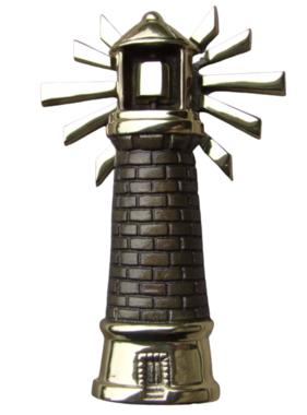 "Lighthouse Premium Door Knocker - 8""H x 5""W x 1.5""D"