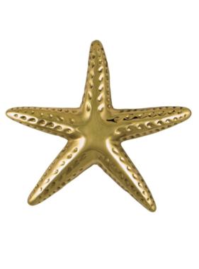 "Starfish Premium Door Knocker - 7""H x 6.5""W x 2""D"