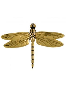 """Dragonfly Premium Door Knocker - 5 3/4""""H x 8 3/16""""W x 1 7/8""""D"""