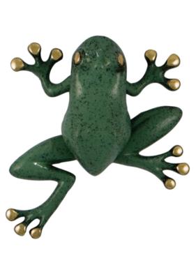 """Frog Premium Door Knocker - 5 3/4""""H x 5 1/4""""W x 1 3/4""""D"""