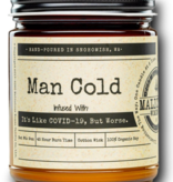 MALICIOUS WOMEN Man Cold Candle Soy Candle 9oz - Take A Hike Scent