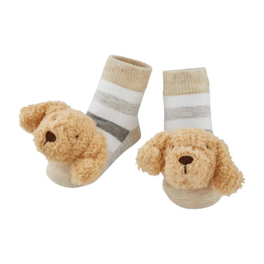Doodle Rattle Toe Socks
