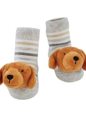 Dachshund Rattle Toe Socks