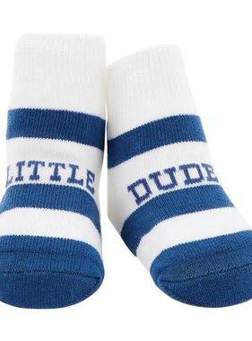 Dude Stripe Socks 0-12M