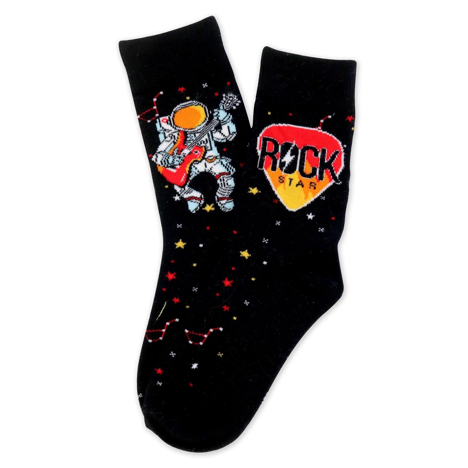 DM MERCHANDISING Rock Star Socks - Ages 7-10