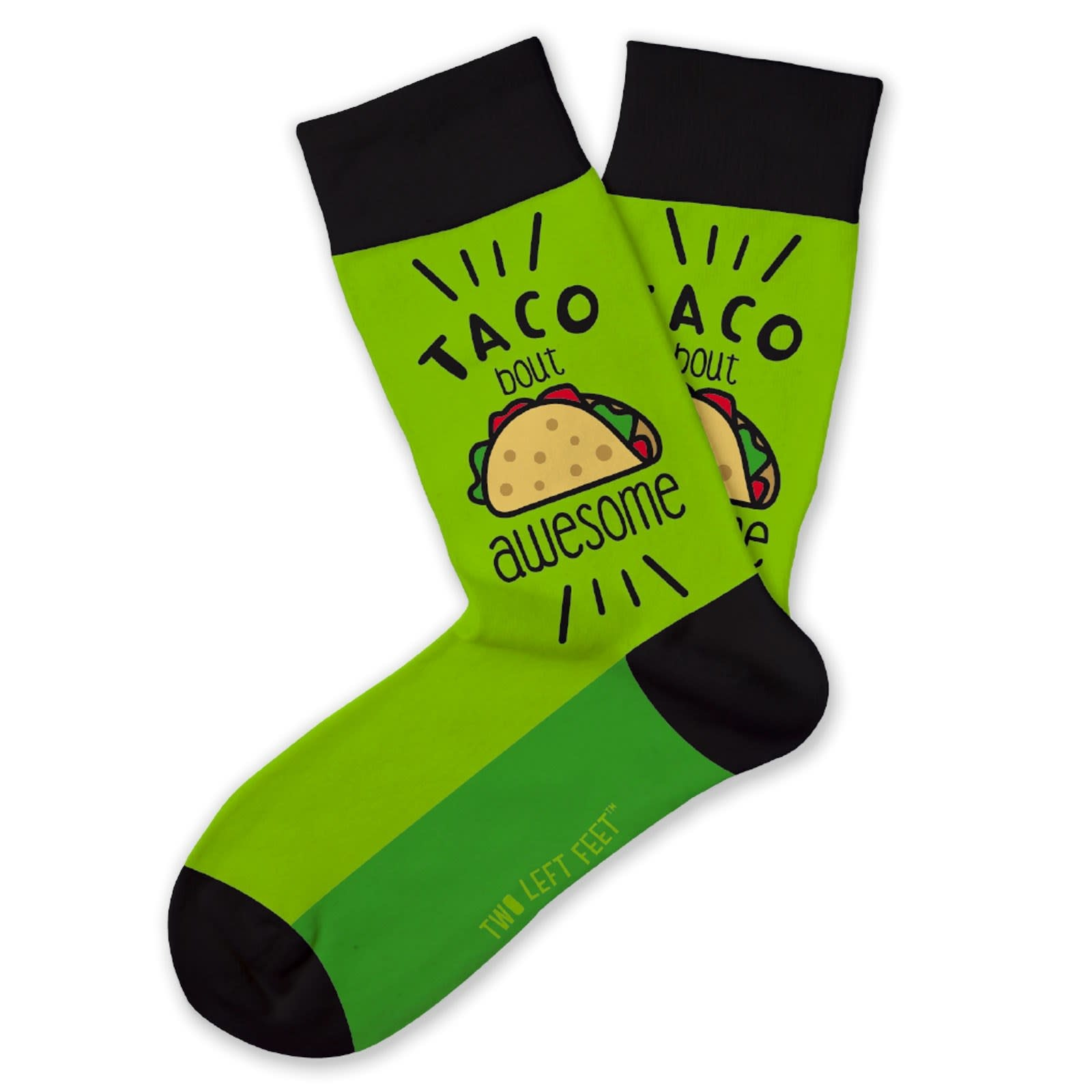 DM MERCHANDISING Taco Bout Awesome Socks - Ages 7-10
