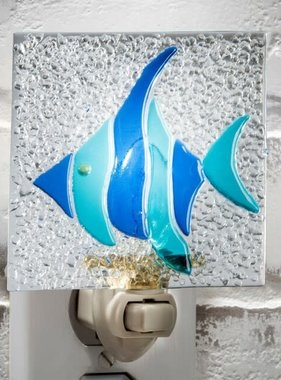 Night Light - Blue Fish