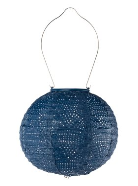 Globe Lantern - Ultramarine