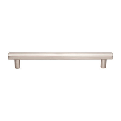 Top Knobs Hillmont Pull Brushed Satin Nickel - 7 9/16 in