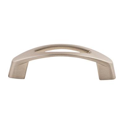 Top Knobs Verona Pull Brushed Satin Nickel - 3 9/16 in