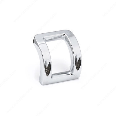 Richelieu Levier Hook Chrome - 1 3/4 in