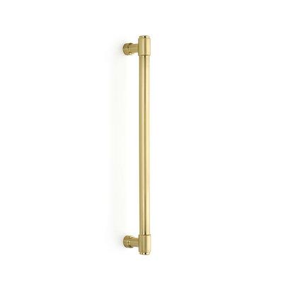 Emtek Jasper Appliance Pull Satin Brass - 13 3/8 in