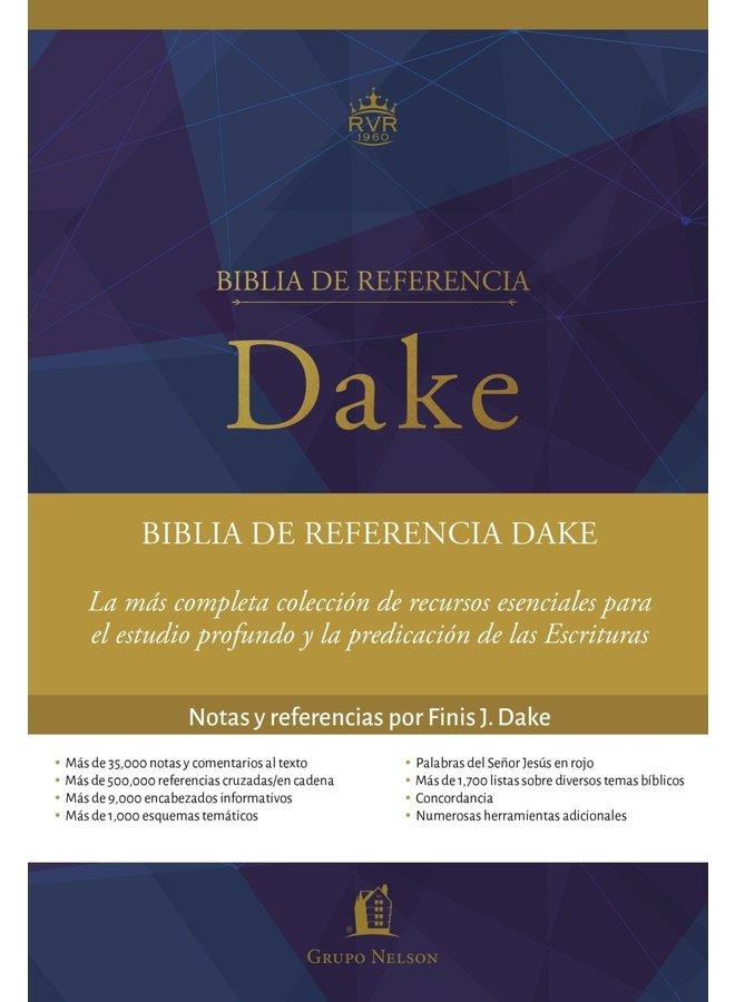 BIBLIA DE ESTUDIO REFERENCIA DAKE RVR60 PASTA DURA