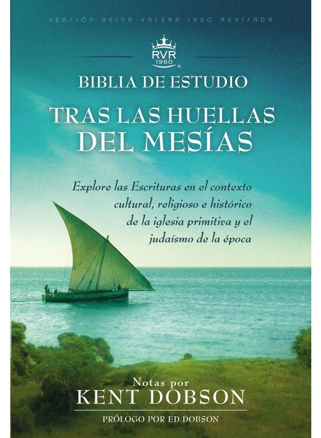 BIBLIA DE ESTUDIO RVR60 TRAS LAS HUELLAS DEL MESIAS