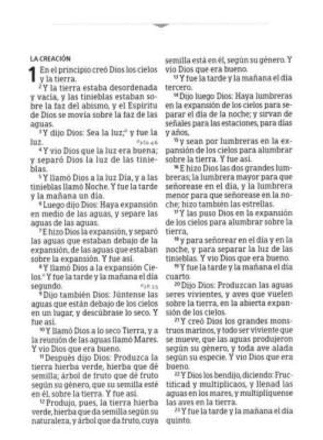 BIBLIA LETRA GRANDE TAMANO MANUAL CON INDICE Y CIERRE RVR60