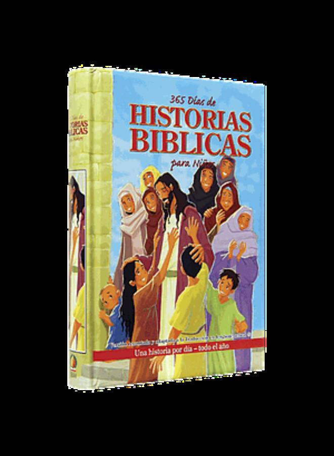365 HISTORIAS BIBLICAS PARA NIÑOS