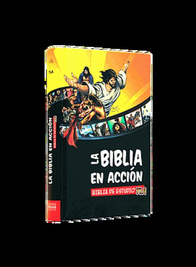 BIBLIA EN ACCION TLA COMIC