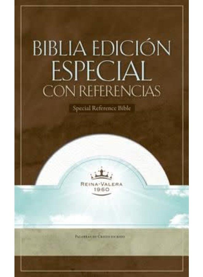 BIBLIA ESPECIAL CON REFERENCIAS RVR60, BLANCA CON INDICADORES