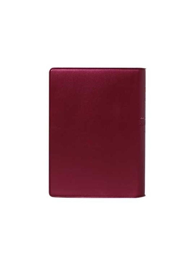 BIBLIA RVR60 VINIL VINO CHICA