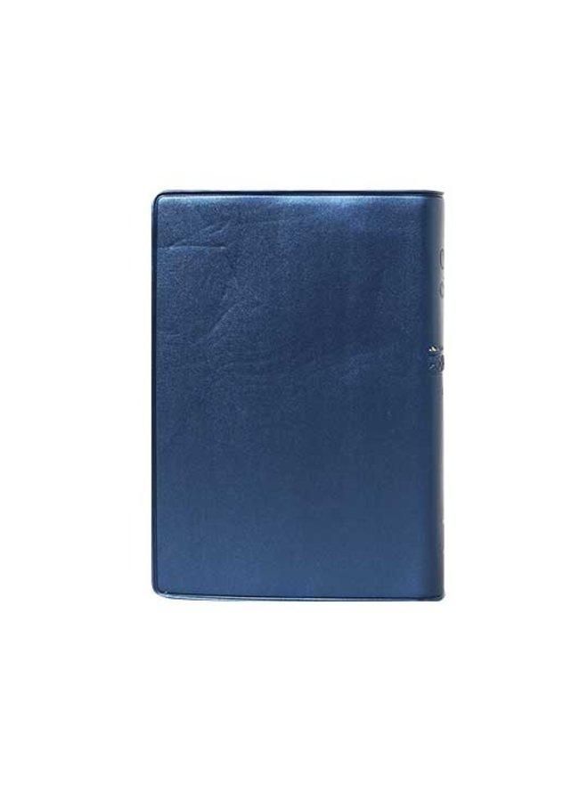 BIBLIA RVR60 VINIL AZUL CHICA