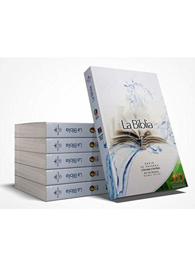 BIBLIA RVR60 500 RAZONES RUSTICA