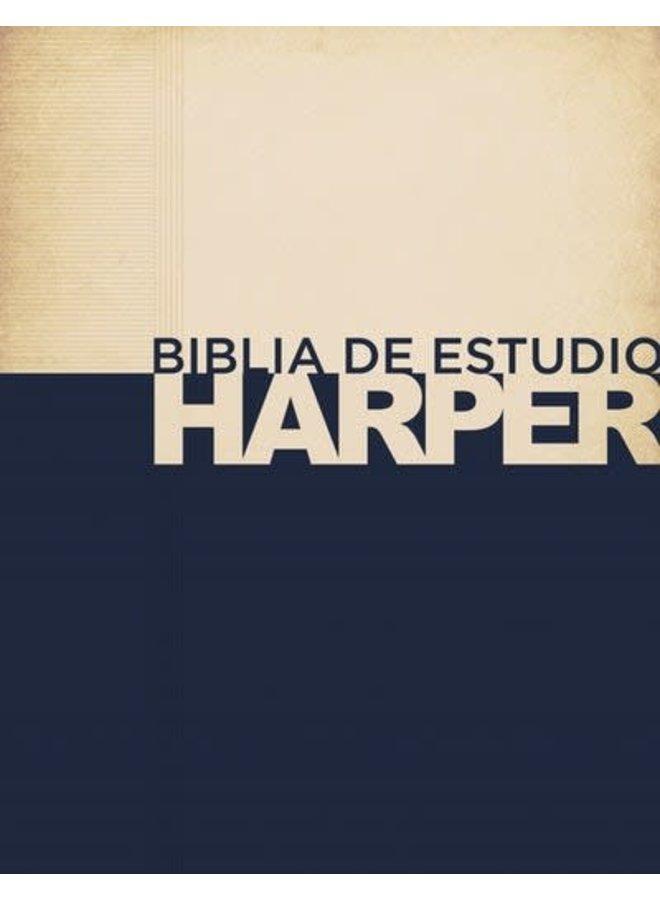 BIBLIA DE ESTUDIO HARPER RVR60 TAPA DURA