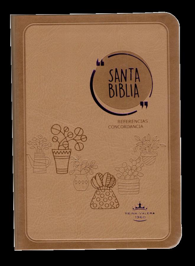 BIBLIA RVR045CLG GA CAFE FLOREROS Y MACETAS