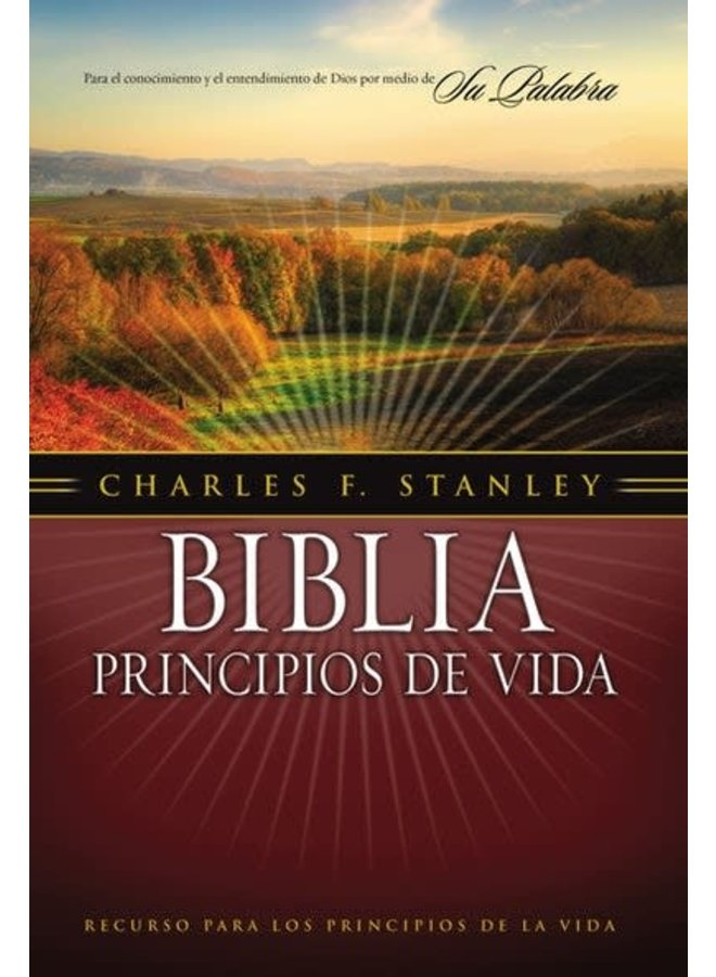 BIBLIA PRINCIPIOS DE VIDA RVR1960 TAPA DURA