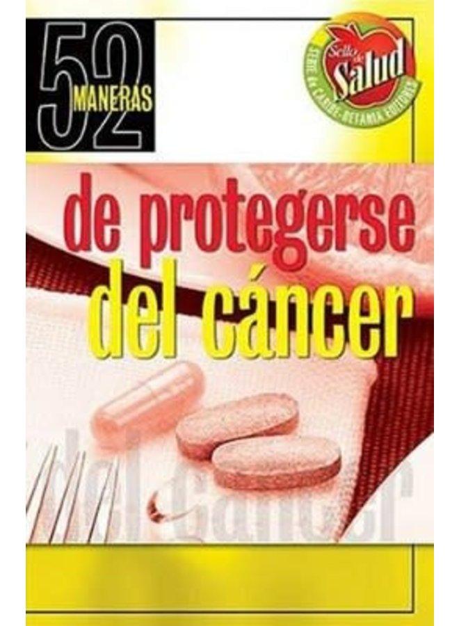52 MANERAS DE PROTEGERSE DEL CANCER