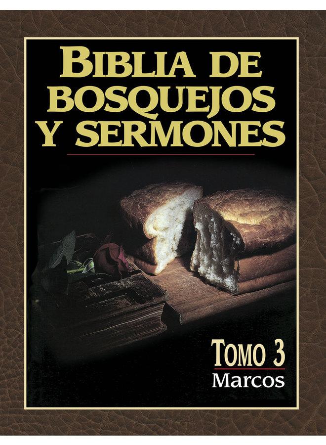 BIBLIA DE BOSQUEJOS Y SERMONES: MARCOS