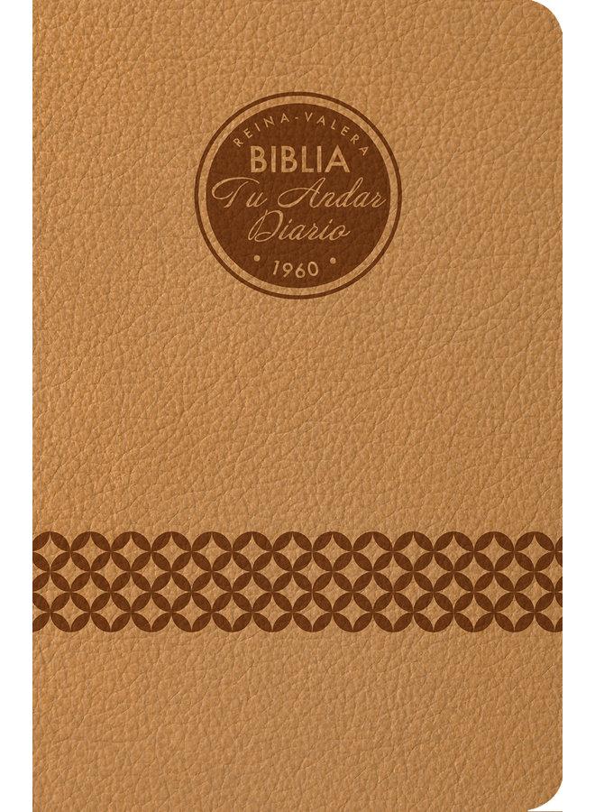 BIBLIA TU ANDAR DIARIO RVR 1960 CAFE