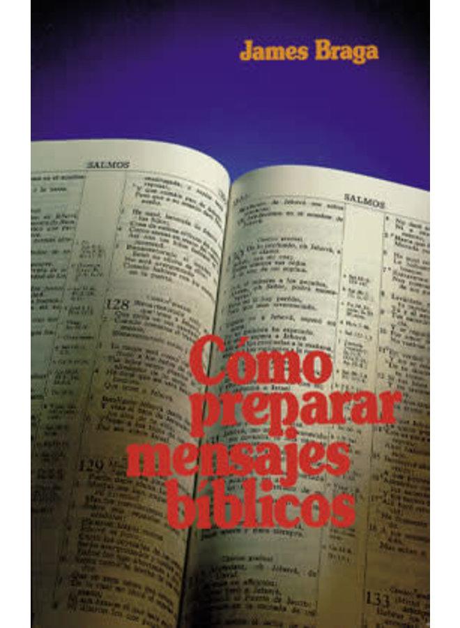 COMO PREPARAR MENSAJES BIBLICOS