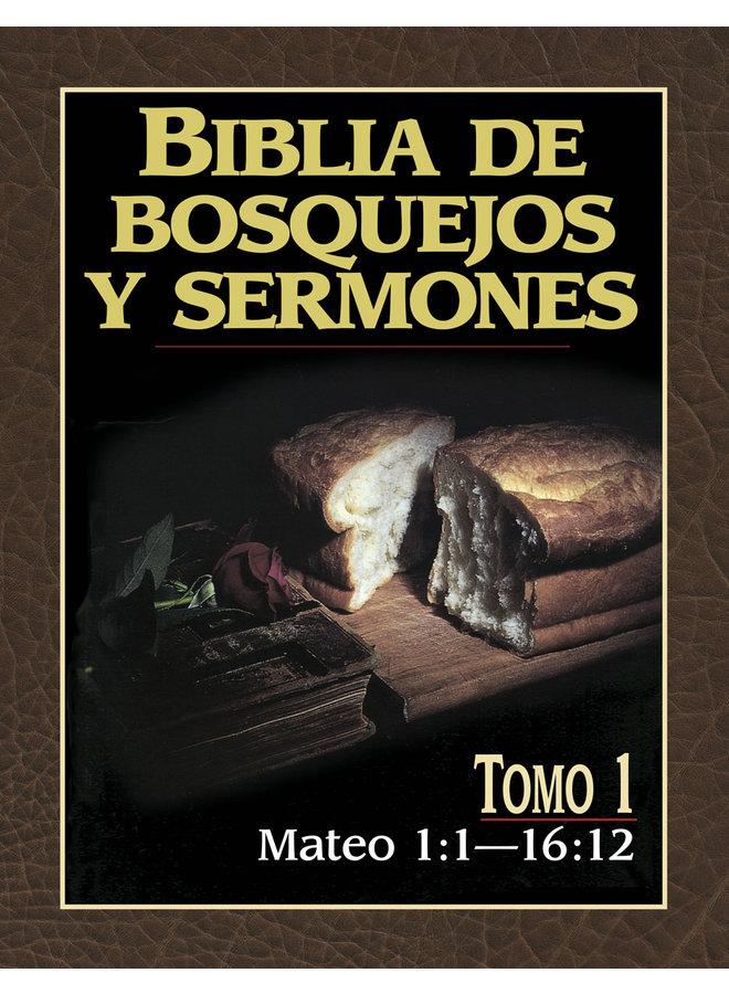 BIBLIA DE BOSQUEJOS Y SERMONES: MATEO 1