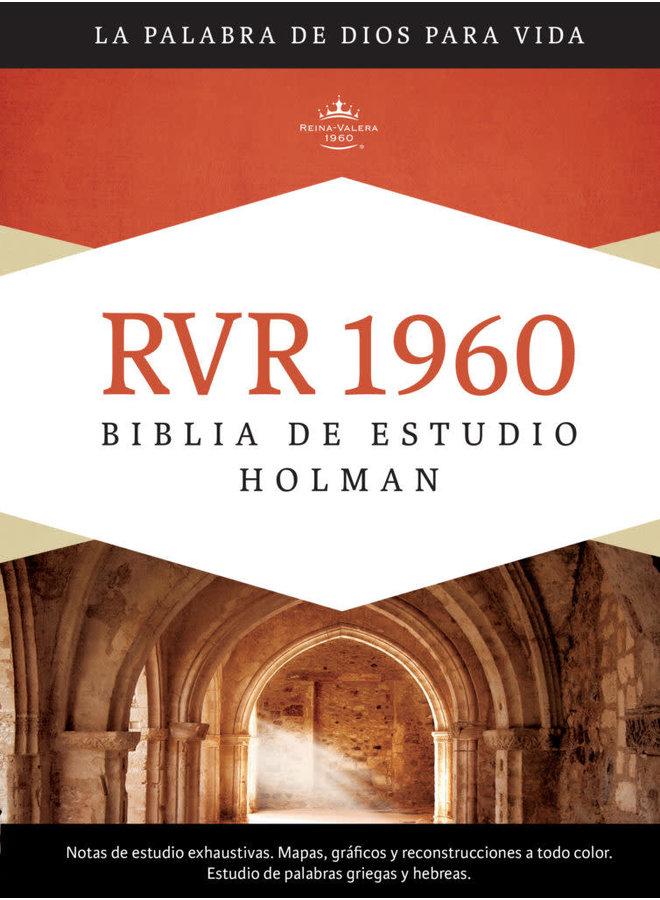 BIBLIA DE ESTUDIO HOLMAN RVR60 PASTA DURA