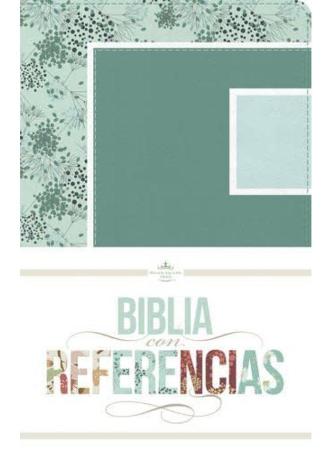 BIBLIA CON REFERENCIAS RVR60 TURQUESA MENTA