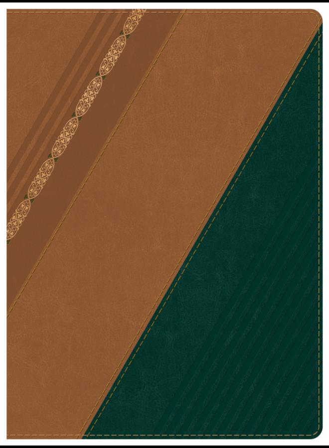 BIBLIA DE ESTUDIO HOLMAN CASTANO VERDE RVR 1960