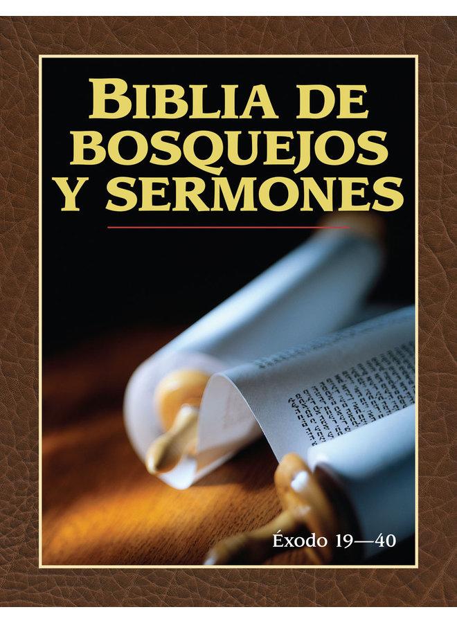 BIBLIA DE BOSQUEJOS Y SERMONES EXODO 19-40