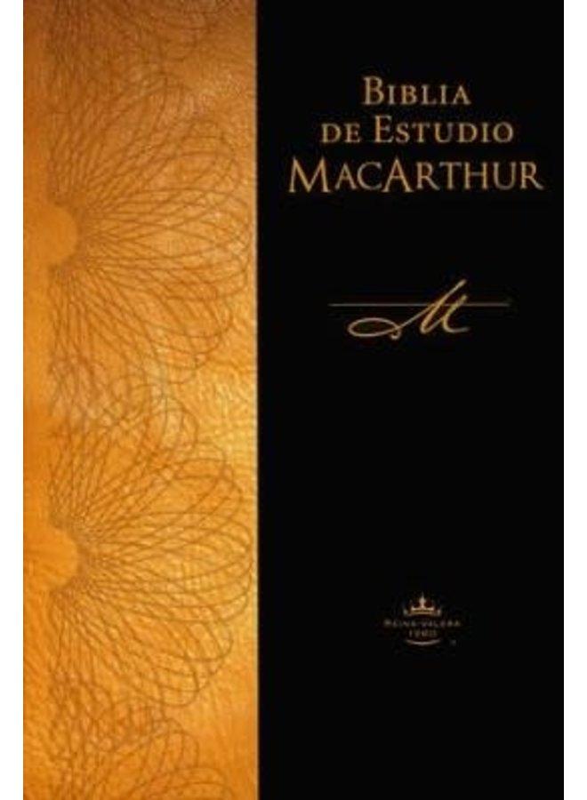 BIBLIA DE ESTUDIO RVR60 MACARTHUR RUSTICA