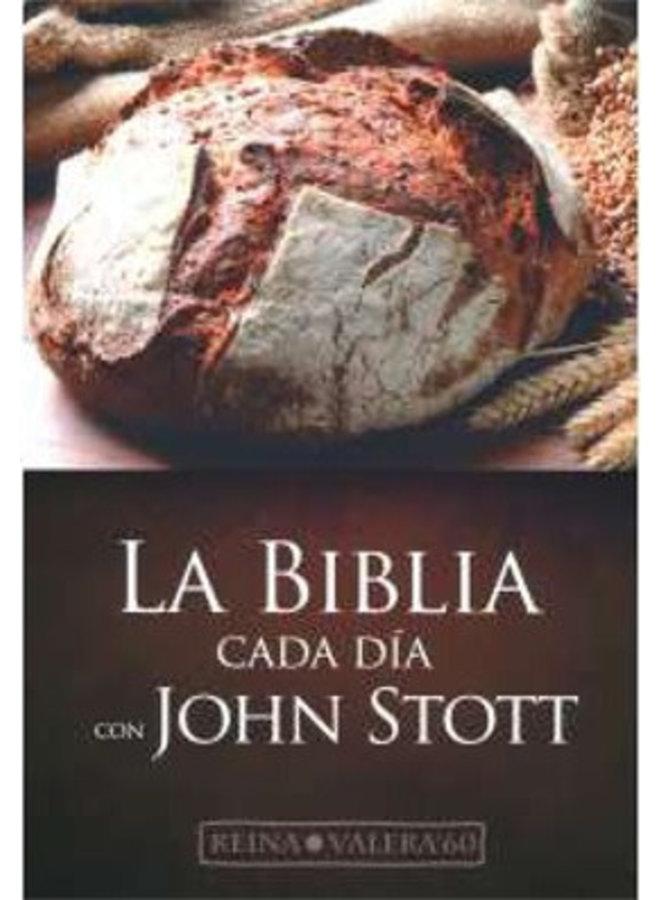 BIBLIA CADA DIA CON JOHN STOTT RVR60 IP CAFE