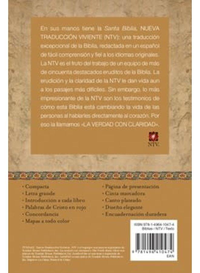 COMPACTA LETRA GRANDE NTV SENTIPIEL AZUL CHOCOLATE