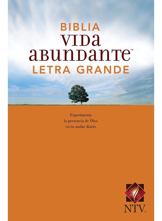 BIBLIA VIDA ABUNDANTE NTV LETRA GRANDE