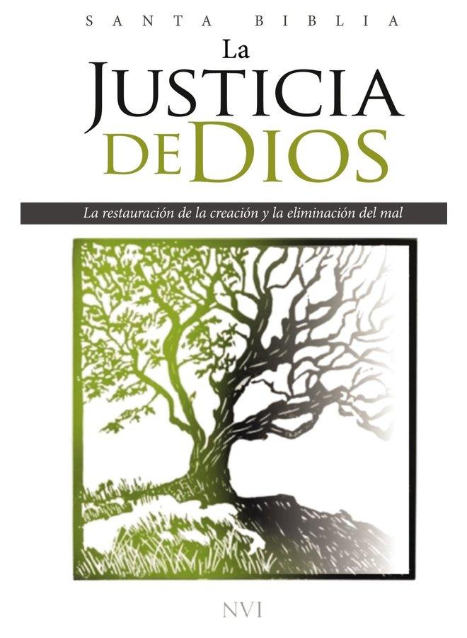 BIBLIA NVI LA JUSTICIA DE DIOS ENCUADERNACION DURA