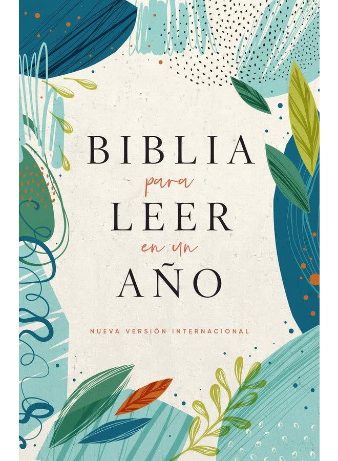 LA BIBLIA NVI PARA LEER EN UN ANO VERDE