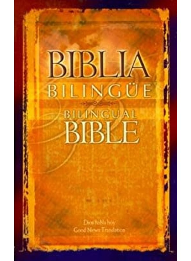 BIBLIA BILINGUE DIOS HABLA HOY NARANJA