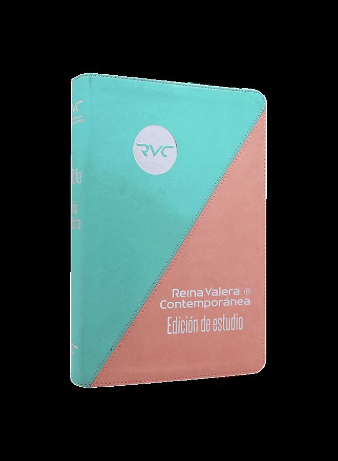 BIBLIA REINA VALEREA CONTEMPORANEA EDICIN ESTUDIO