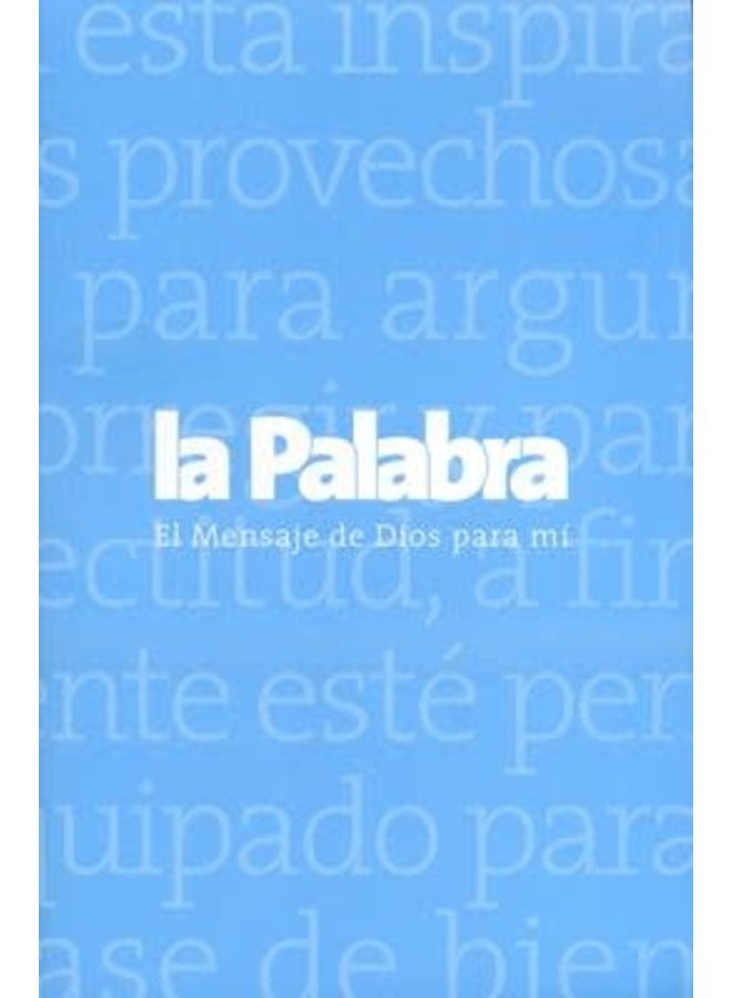 BIBLIA LA PALABRA AZUL