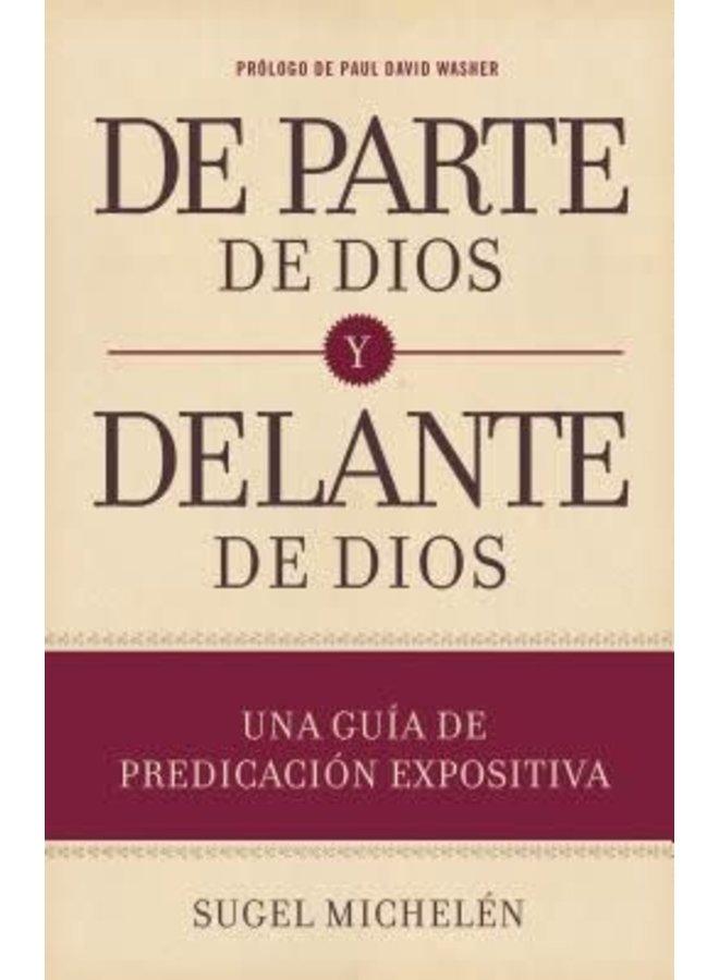 DE PARTE DE DIOS Y DELANTE DE DIOS