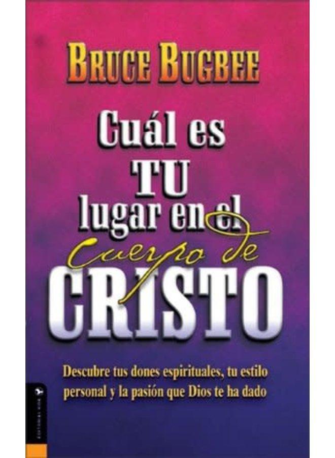 CUAL ES TU LUGAR EN EL CUERPO DE CRISTO