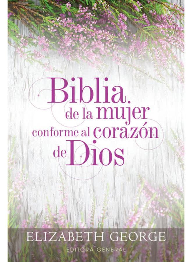 BIBLIA DE LA MUJER CONFORME AL CORAZON DE DIOS RVR60 TAPA DURA GRIS